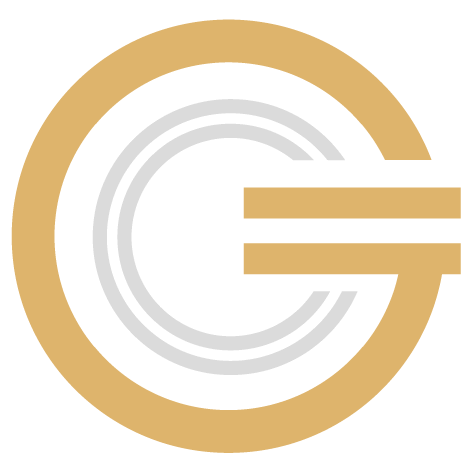 The Global Cryptocurrency Coin Logo