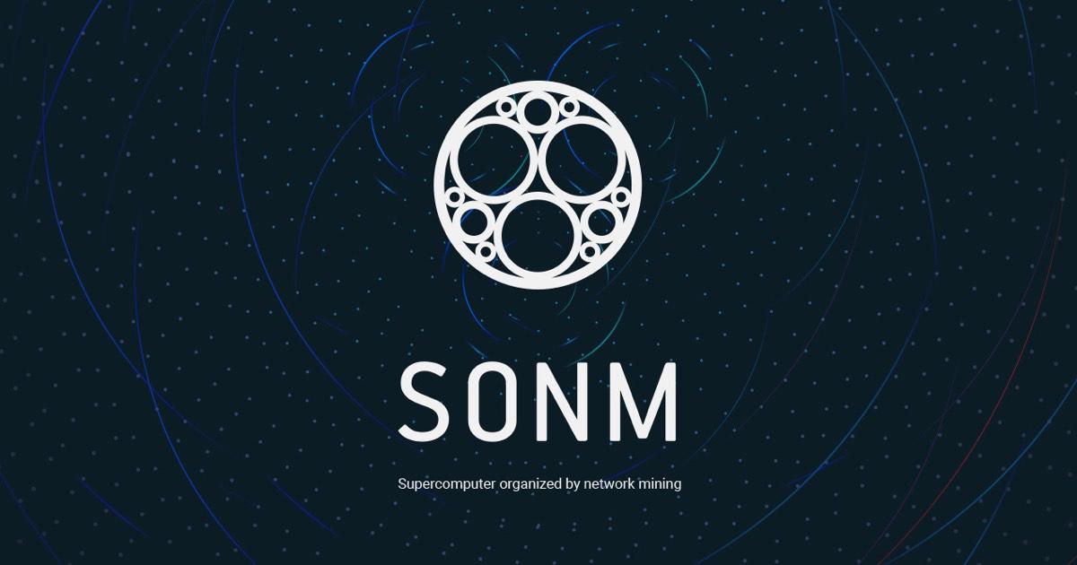 SONM Coin logo