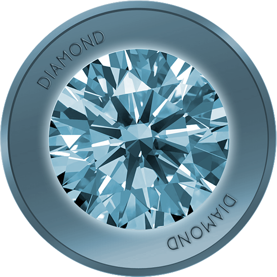 Diamond Coin logo