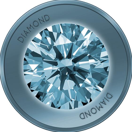 Diamond Coin Logo