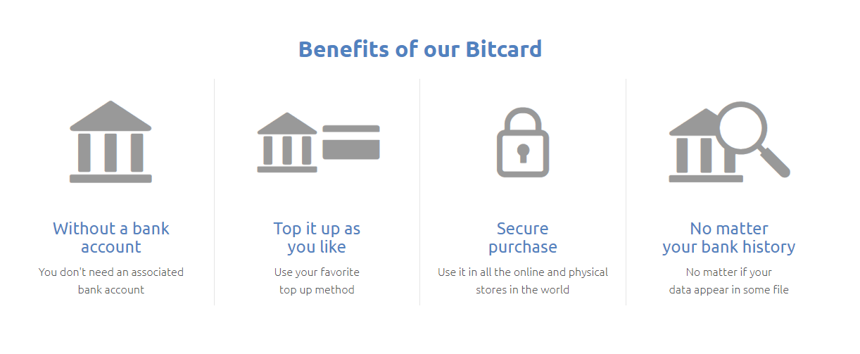 Bitcard Advantages