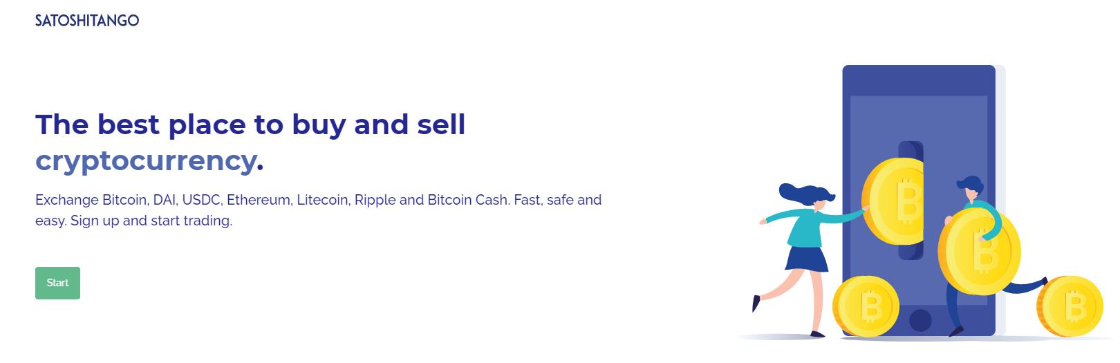 SatoshiTango Buy and Sell Crypto