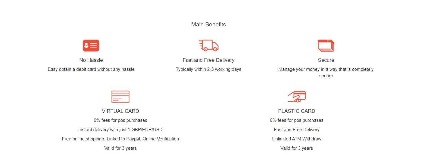 Uquid Card Main Benefits
