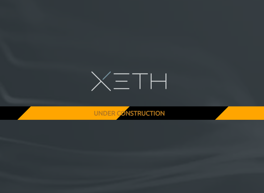 XETH Ether Wallet Under Construction