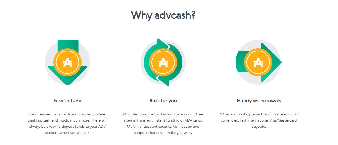 Advcash Advantages