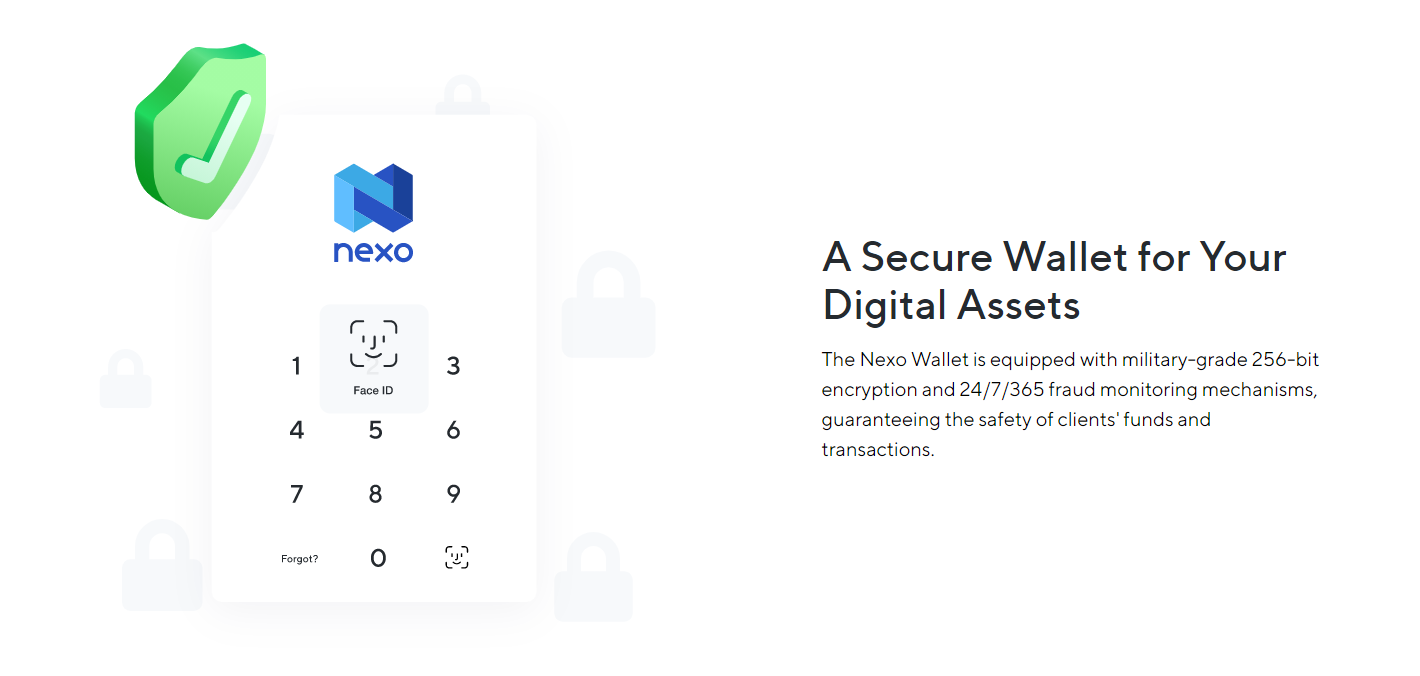 Nexo Card Security