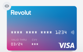 Revolut Metal Picture of Card