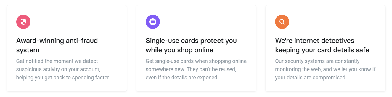 Revolut Metal Card Security