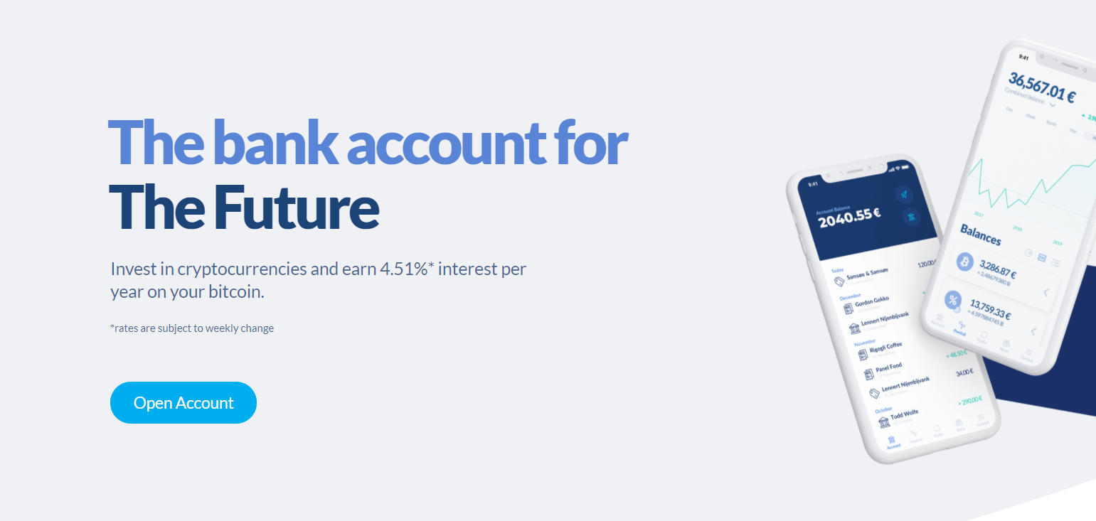 Bitwala Bank Account For Future