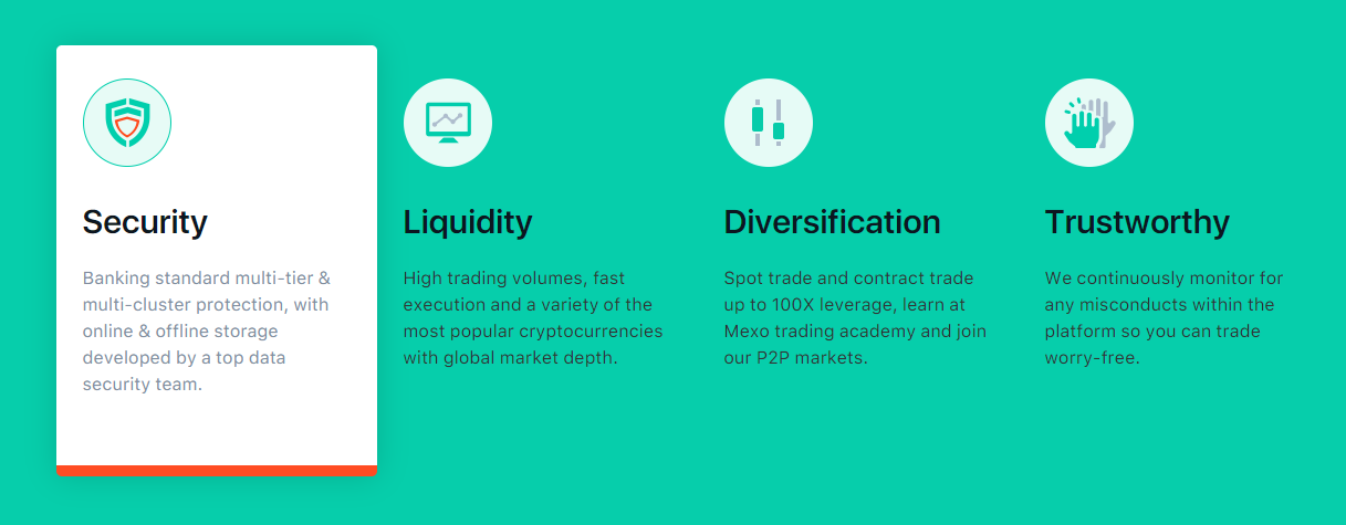 Mexo Exchange Advantages
