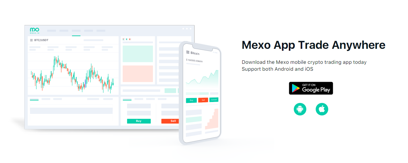 Mexo Exchange Mobile Support New