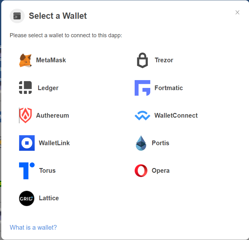 Curve Finance Exchange Compatible Wallets
