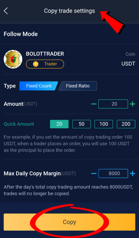 How to Use Copy Trade on Bityard Picture 5
