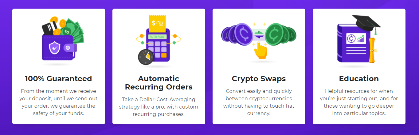 Easy Crypto Exchange Advantages