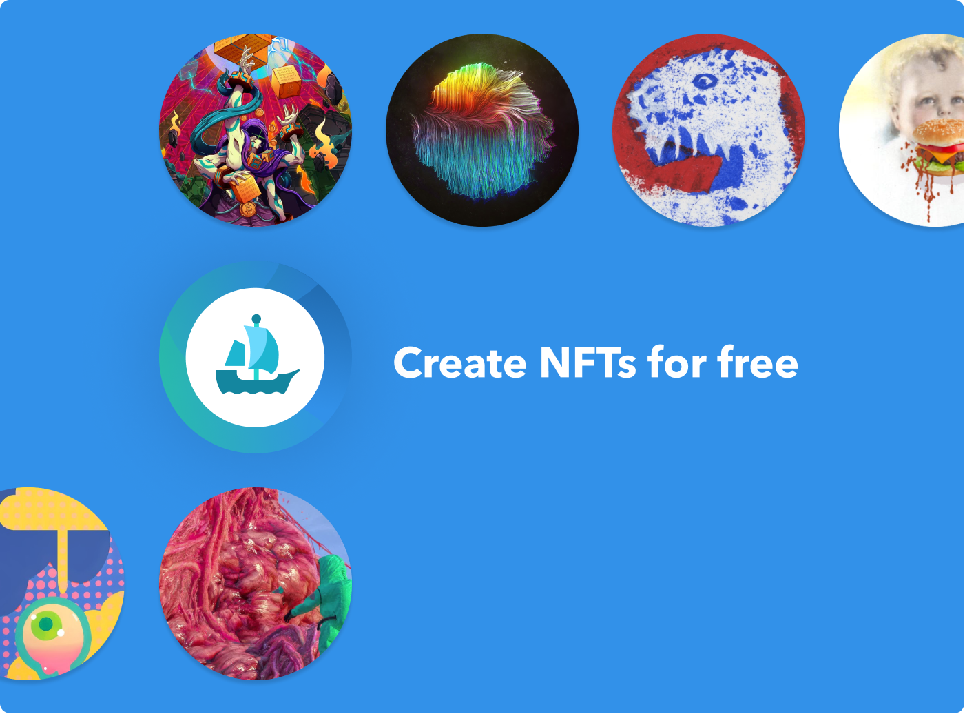 OpenSea Create NFTs for free