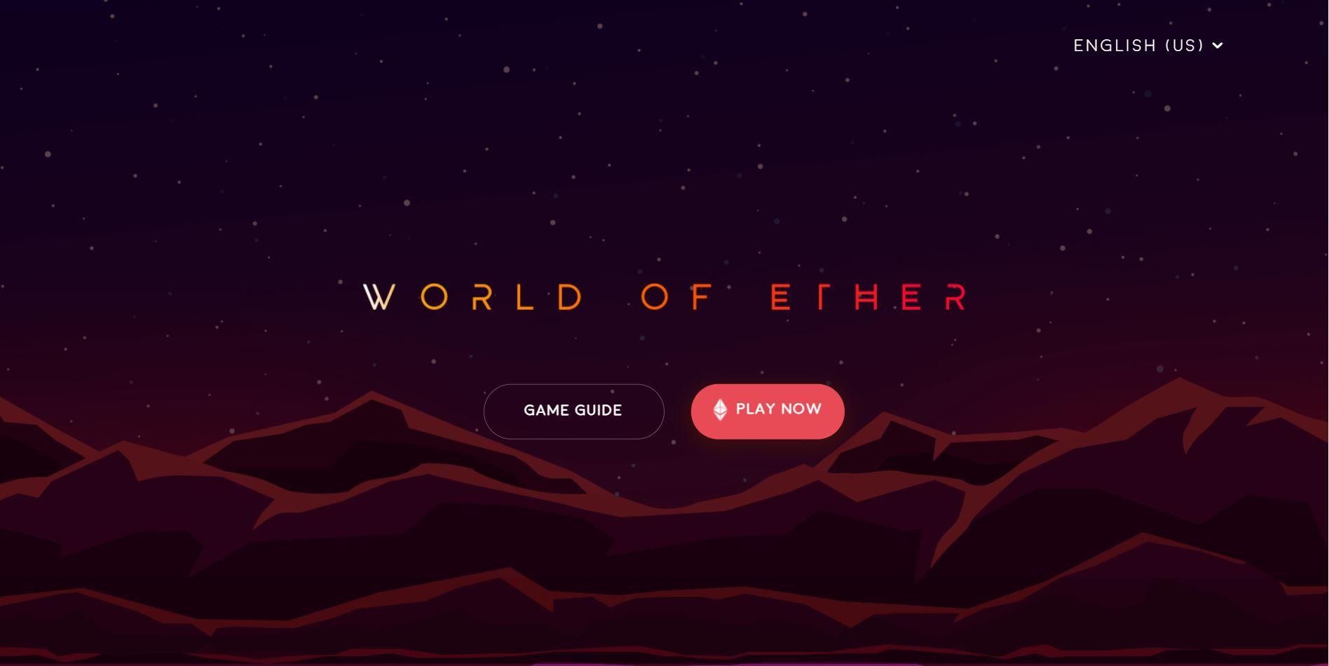 World of Ether Marketplace