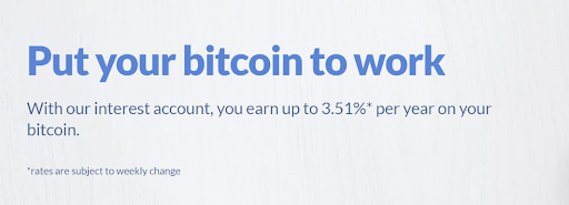 Bitwala Bitcoin Interest Account