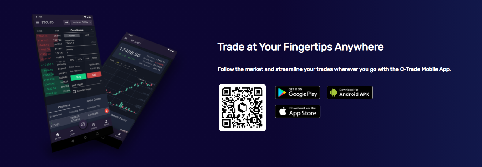C-Trade Mobile Support