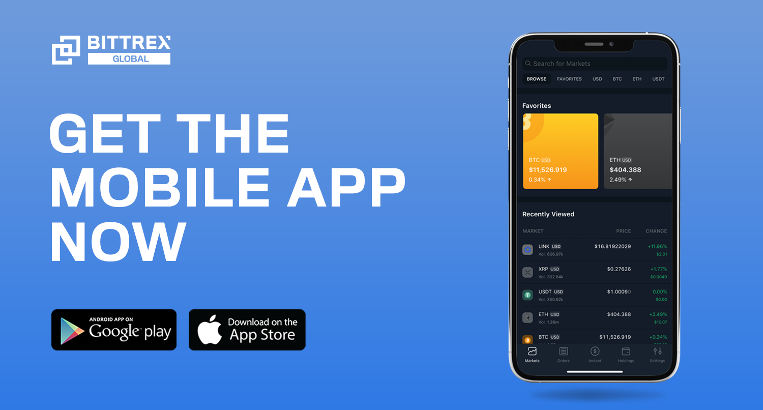Bittrex Mobile Support