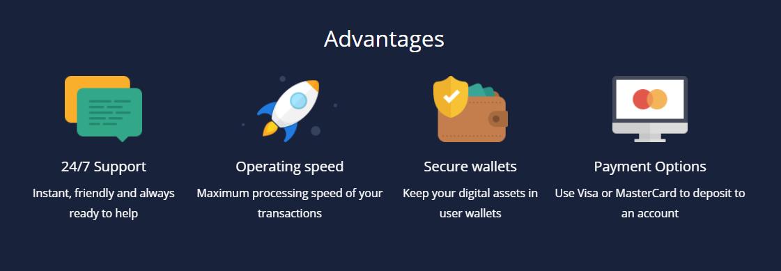 Polyx Exchange Advantages