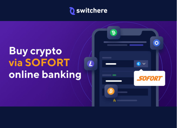 Switchere Buy Crypto with Sofort Payments