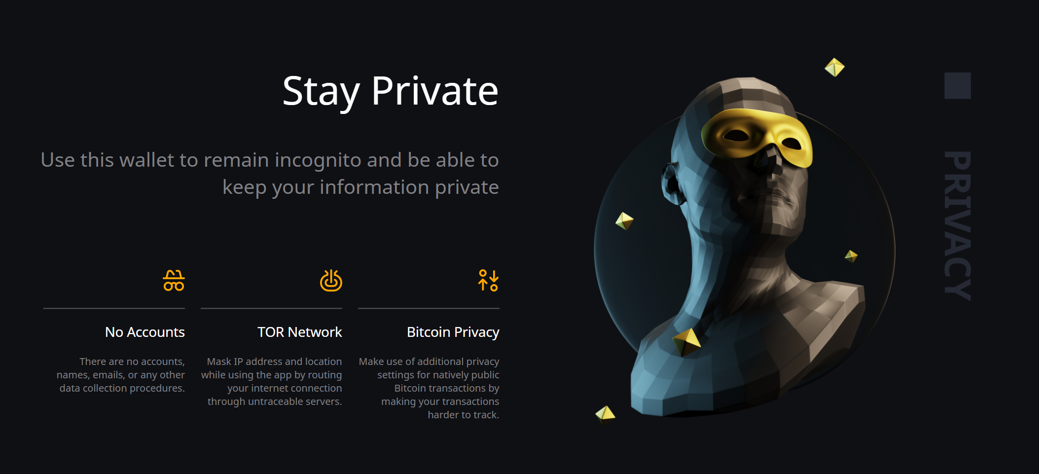 Unstoppable Wallet Privacy