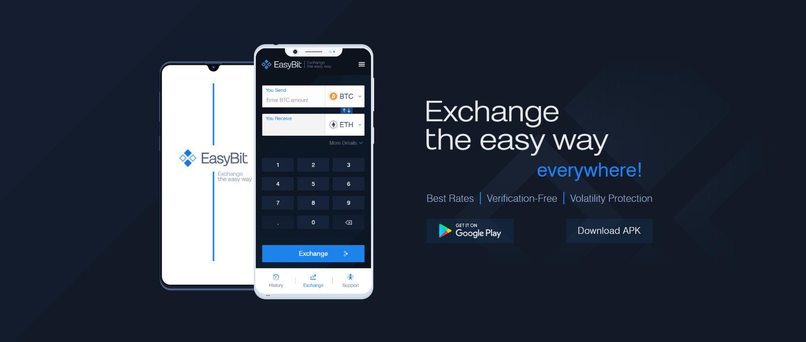 Easybit Mobile App