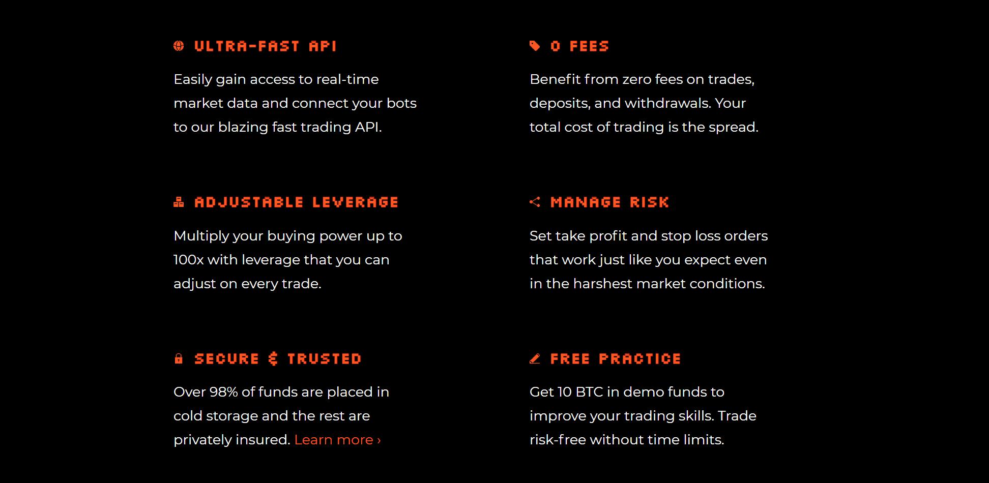 Trade8 Advantages