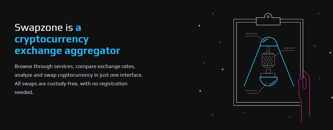 Swapzone.io Crypto Exchange Aggregator