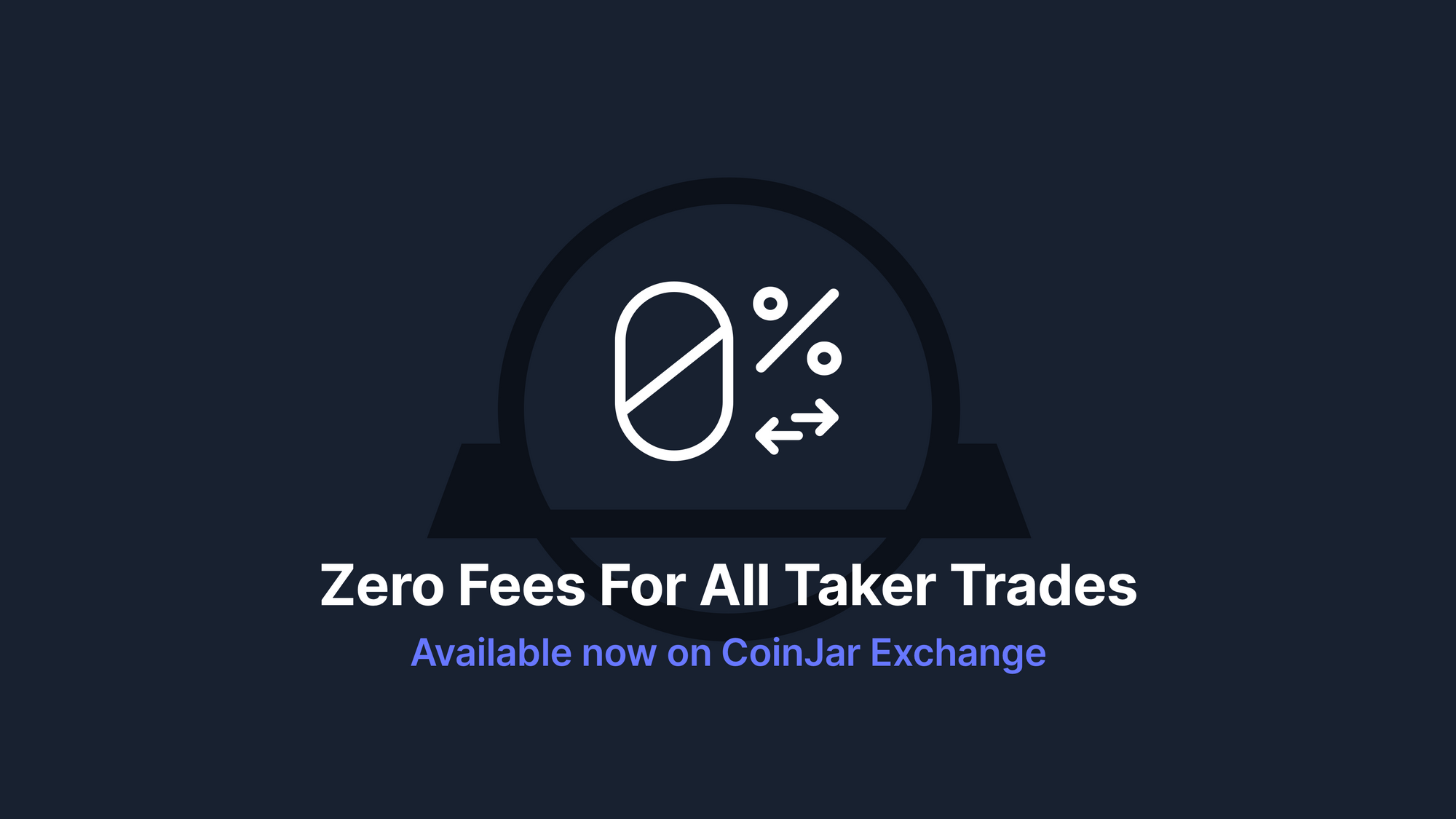 CoinJar Exchange 0 Taker Fees All Trading Pairs