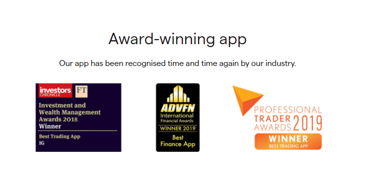 IG Markets Prizes