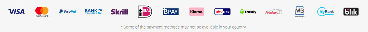 Plus500 Payment Methods