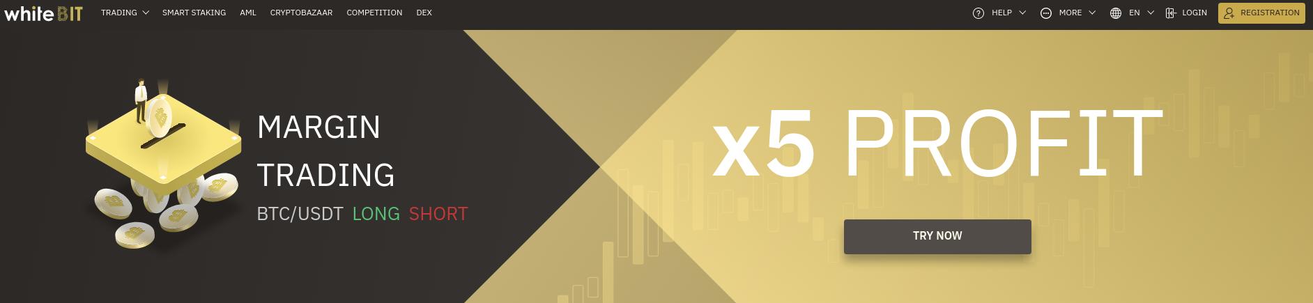 Whitebit 5X Profit