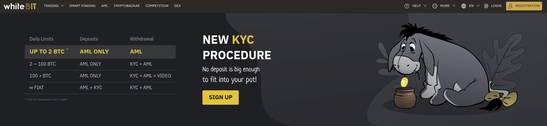 Whitebit New KYC