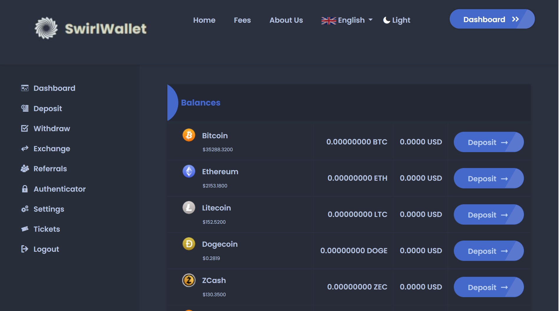 SwirlWallet Exchange Review