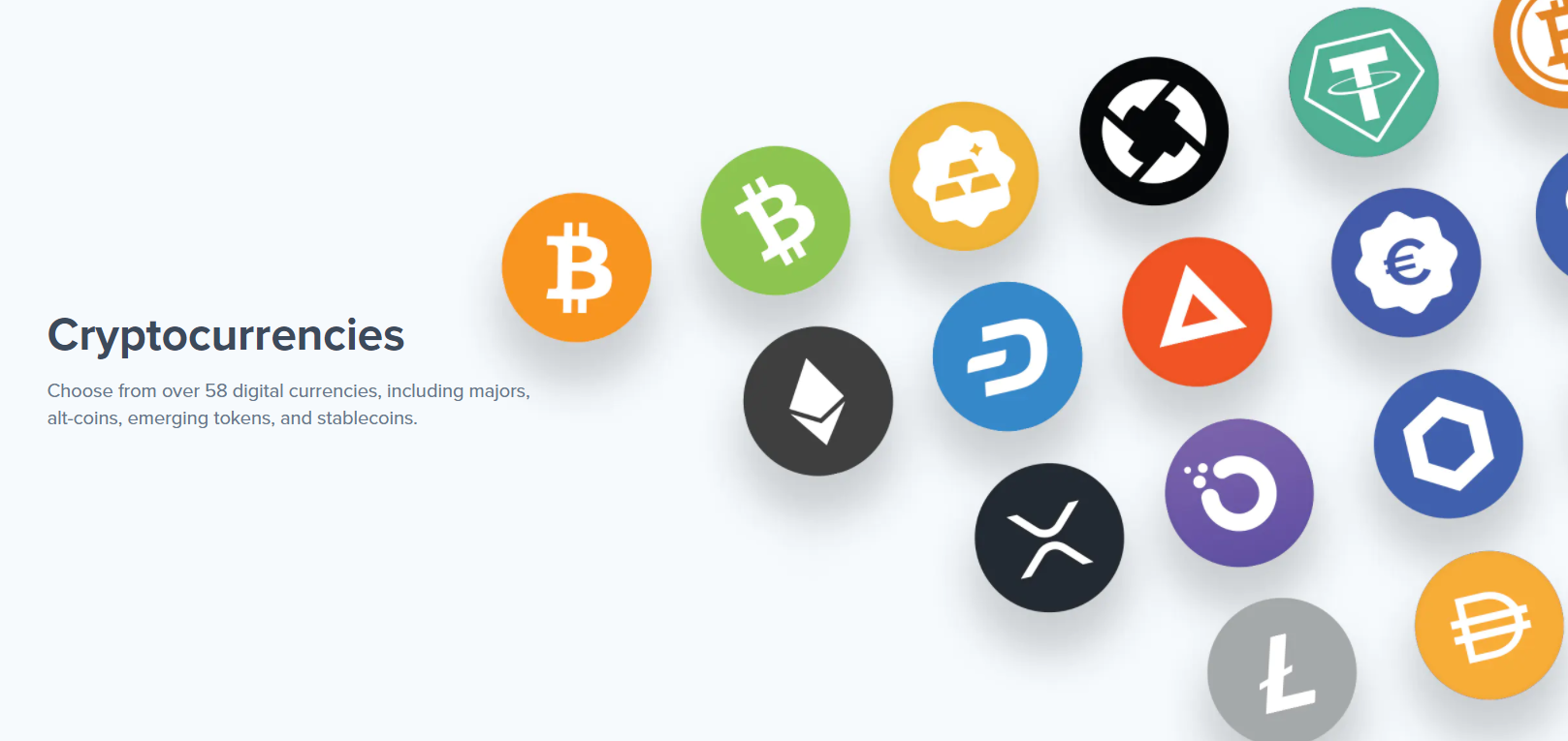 Uphold Exchange Cryptocurrencies