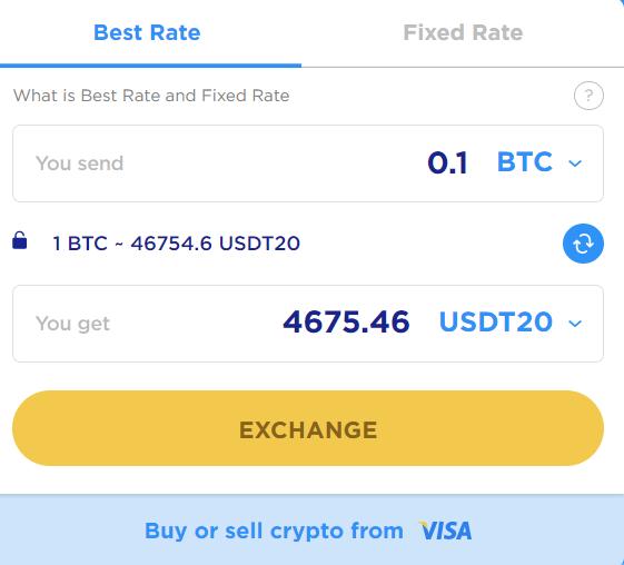 ChangeHero Trading Interface New
