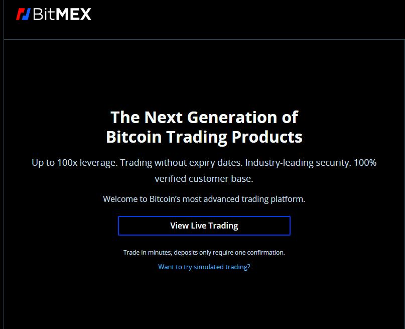 BitMEX Promo Pic