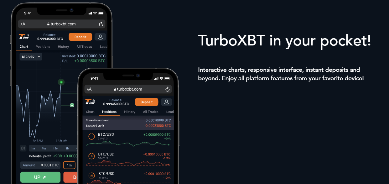 TurboXBT Mobile Support
