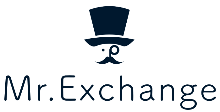 Mr. Exchange (Mr. Ripple) logo