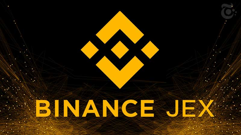 Binance JEX Logo
