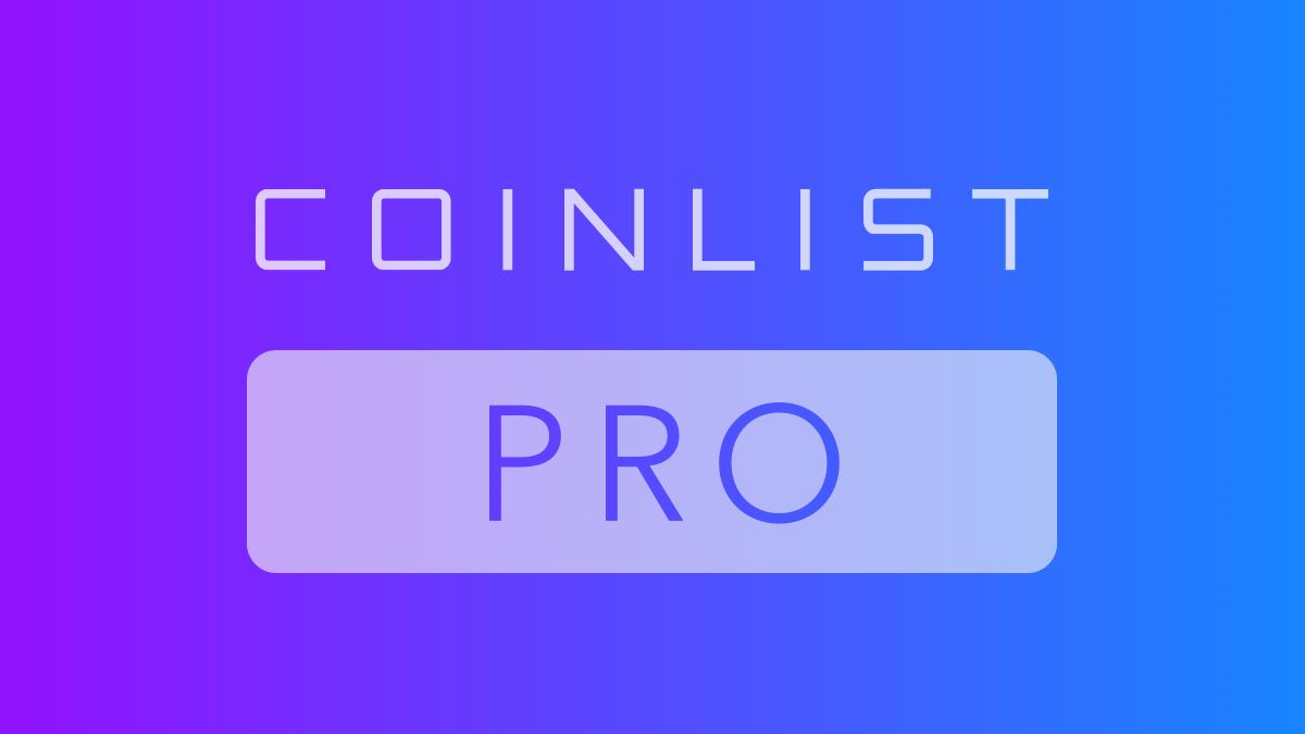CoinList Pro logo