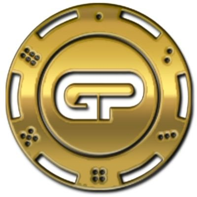 Gold Poker Coin logo