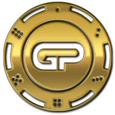 Gold Poker Coin logo