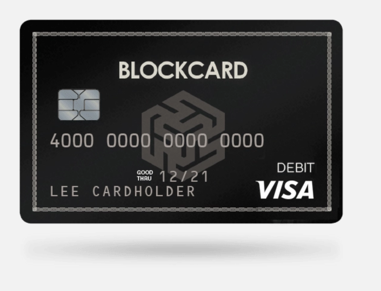 Blockcard Picture of Card