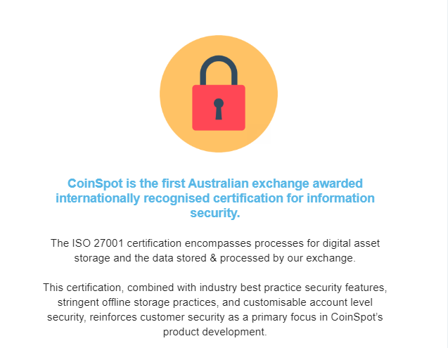 CoinSpot Data Security