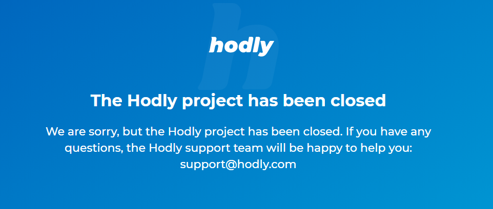 Hodly Closing Message