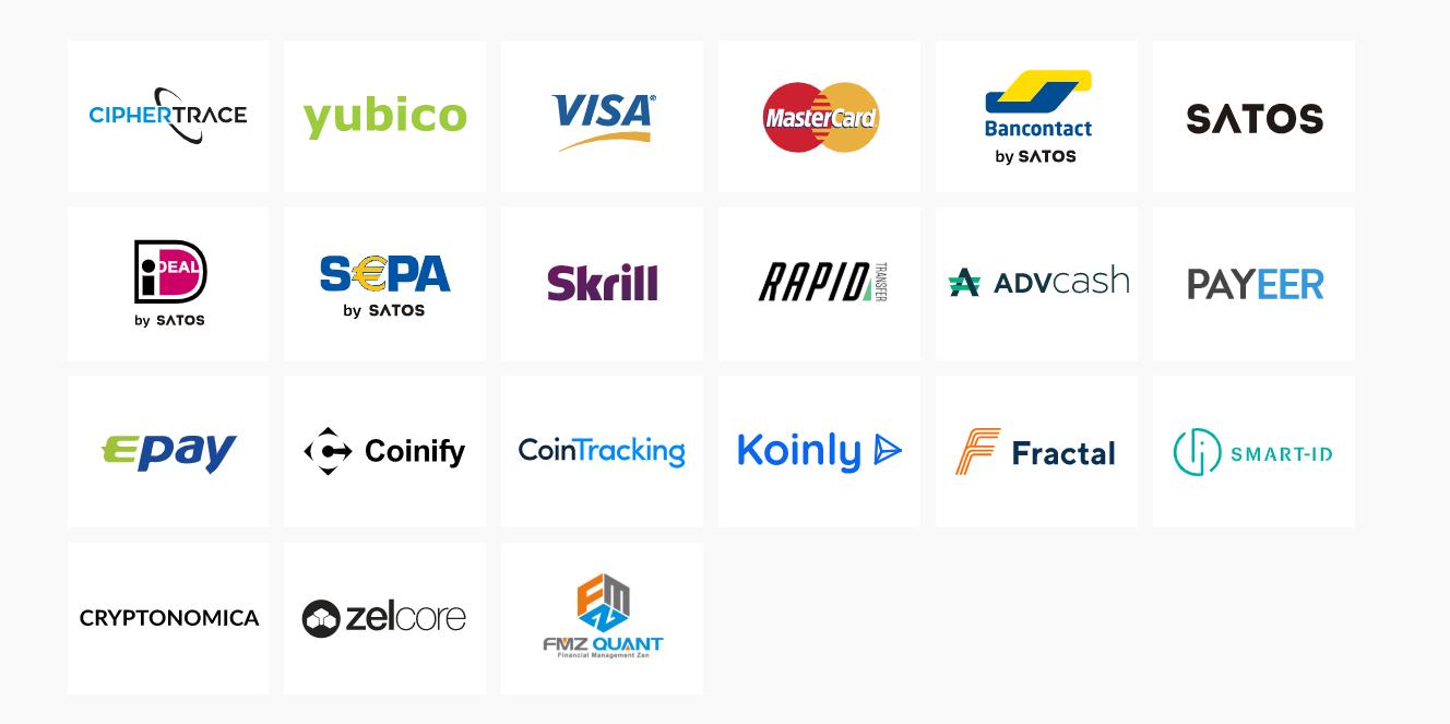 STEX.com Payment Methods
